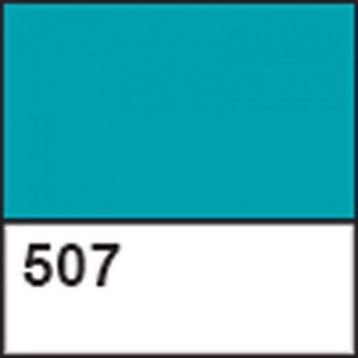 Краска акриловая для витража ДЕКОЛА бирюзовая, 20мл ЗХК