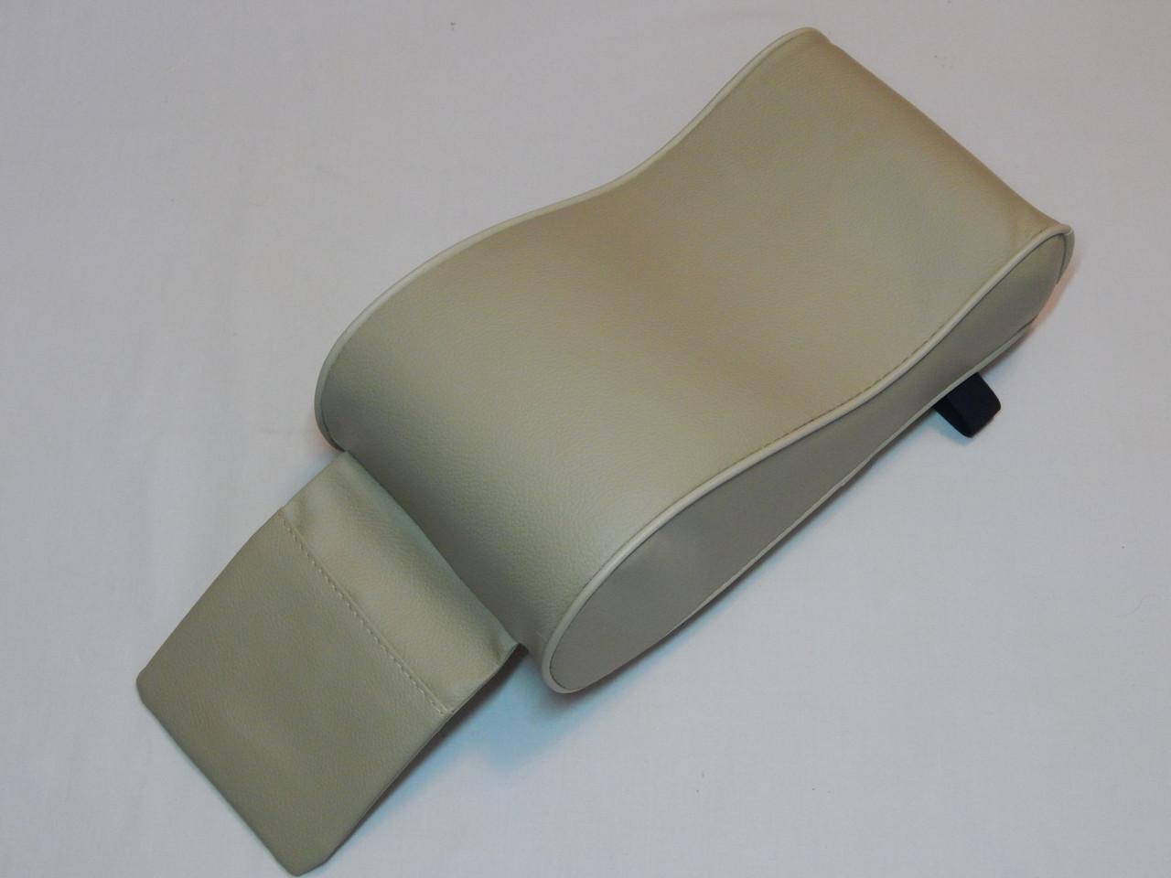 Підлокітник для салону автомобіля ZIRY штучна шкіра, бежевий