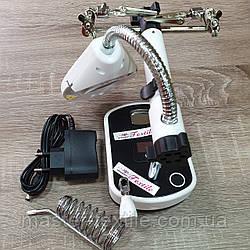 Лупа настольная Auxiliary Clip Magnifier с держателем и подсветкой