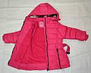 Детская зимняя куртка для девочки фуксия  (Nature, Венгрия), фото 3