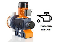 Замена редукторного масла в  насосе-дозаторе ProMinent Sigma 2