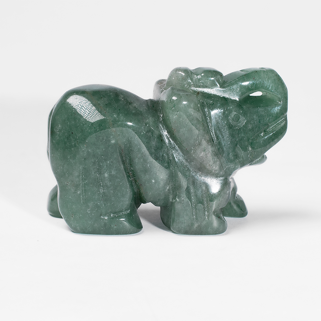 Статуетка Слоник з нефриту, 501ФГН