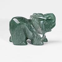 Статуетка Слоник з нефриту, 501ФГН, фото 1