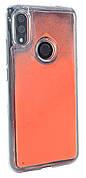 Чохол-накладка NZY для Xiaomi Redmi 7 TPU Рідкий нічний пісок Яскраво-Оранжевий (126060)