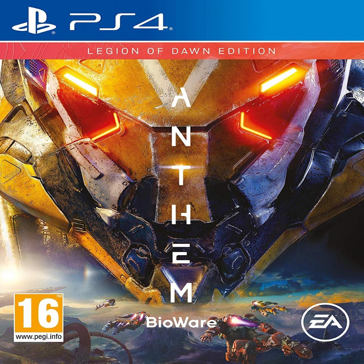 Anthem Legion (русская версия) PS4