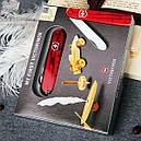 Нож складной, мультитул детский Victorinox My First (84мм, 8 функций), красный 0.2363.Т, фото 5