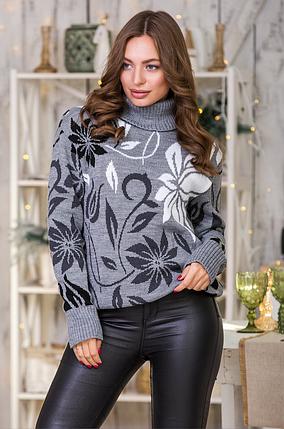 Женский теплый свитер «Вероника», фото 2