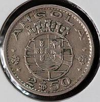 Монета Португалии 2,5 эскудо 1974 г.