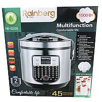 Мультиварка + йогуртница Rainberg RB6209, 45 программ, 6 л, фото 1