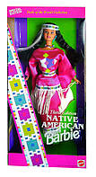 Коллекционная кукла Барби Индианка Куклы Мира Barbie Native American #3 Dolls of the World 1994 Mattel 12699