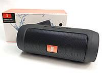 Портативная колонка bluetooth блютуз акустика для телефона мини с флешкой черная mini2+