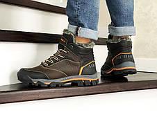 Кожаные зимние мужские ботинки Merrell, коричневые, фото 3