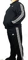 Мужской спортивый зимний костюм супербатал,адидас,adidas,три полосы,трикотаж,Турция