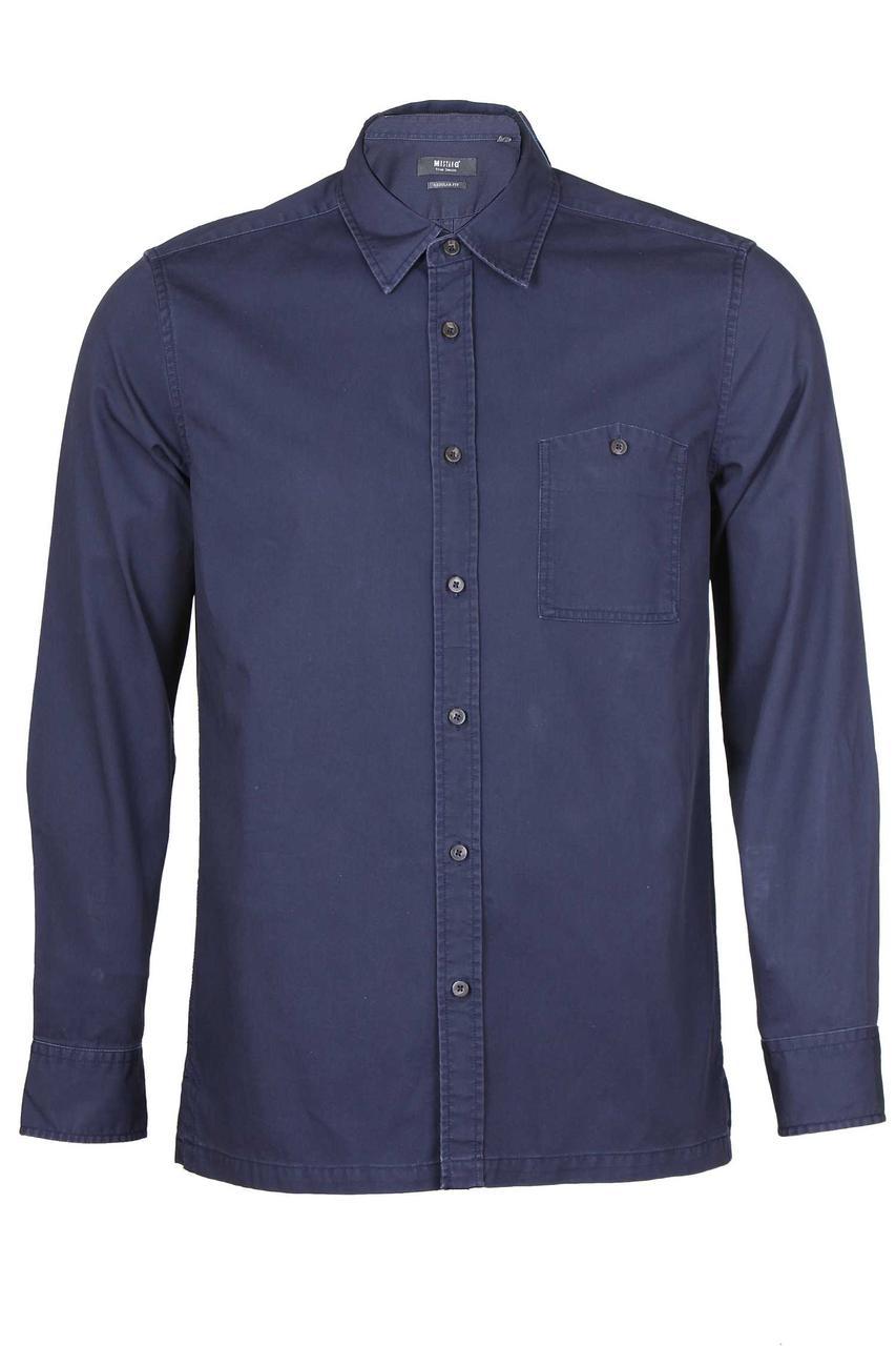 Мужская джинсовая рубашка Parisian Night от Mustang jeans в размере M