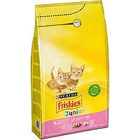 Purina Friskies Junior Kitten корм для котят 10кг