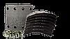 Тормозные накладки SAF (SKRS9042) 420x178mm