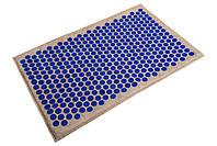 Коврик массажно-аккупунктурный Lounge maxi 80х50 см синие фишки