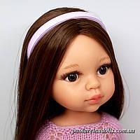 Ободок сиреневый для кукол