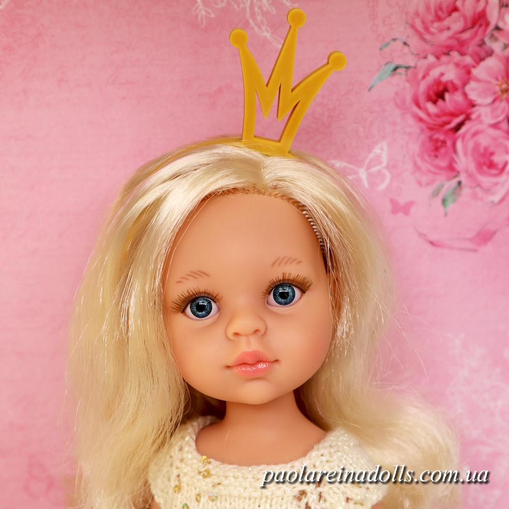 """Ободок-корона """"Принцесса"""", цвет под золото"""