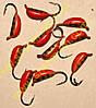 Мормышка вольфрамовая Bravo 2030-410 3,0 мм 0,6 гр. Рижский банан с ушком
