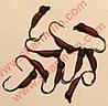 Блешня вольфрамова Bravo 5625-233 2,5 мм 0,35 гр. Німфа з вушком фарбована