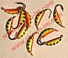 Мормышка вольфрамовая Bravo 1825-36 2,5 мм 0,68 гр. Супер банан с ушком крашенный