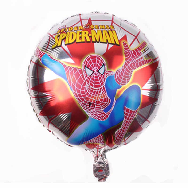 """Кулька фольгований """" Людина Павук """"на срібній павутині"""