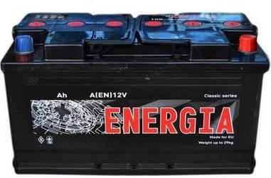Автомобильный аккумулятор Energia 6СТ-75