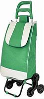 Тачка сумка тележка кравчучка с тройным колесом 95см Stenson MH-2786 Green