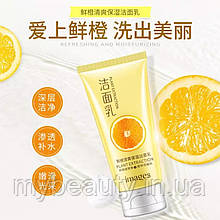 Вітамінна ніжна пінка для вмивання Images Plant Extraction з апельсином, 120 g