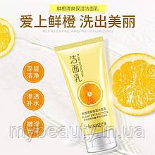 Витаминная нежная пенка для умывания Images Plant Extraction с апельсином, 120 g