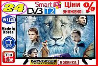 "Телевизор Samsung 24"" FullHD T2 Android телевизоры"