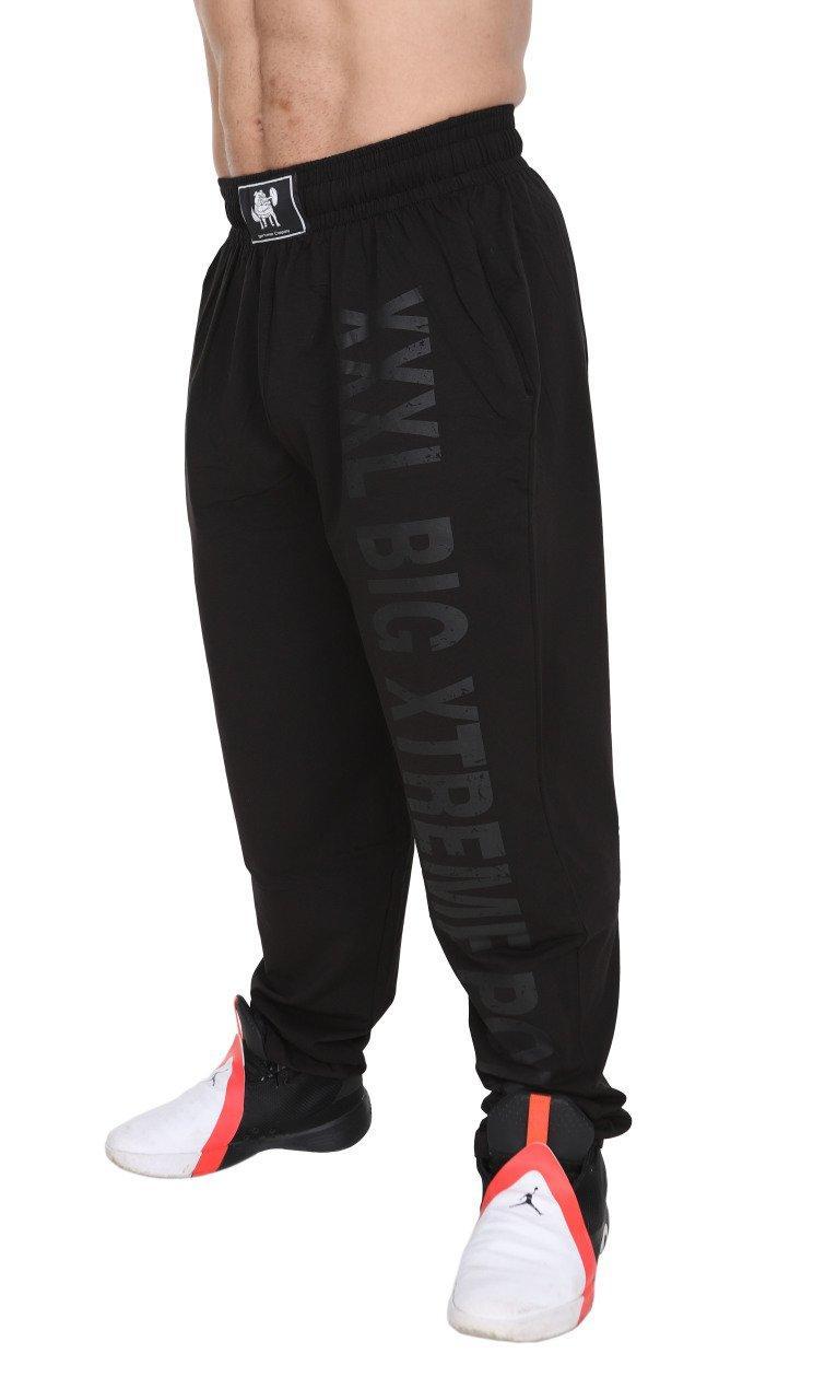 Штаны для культуристов BigSam 1144  размер L ( черные )