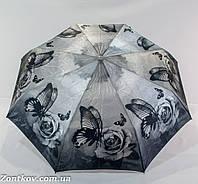 """Складной маленький женский зонтик автомат на 8 карбоновых спиц от фирмы """"Yuzont""""."""