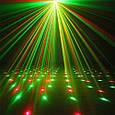 Лазерный проектор Диско LASER 2in1, Mini Laser Stage Lighting с триногой/ точки, фото 5