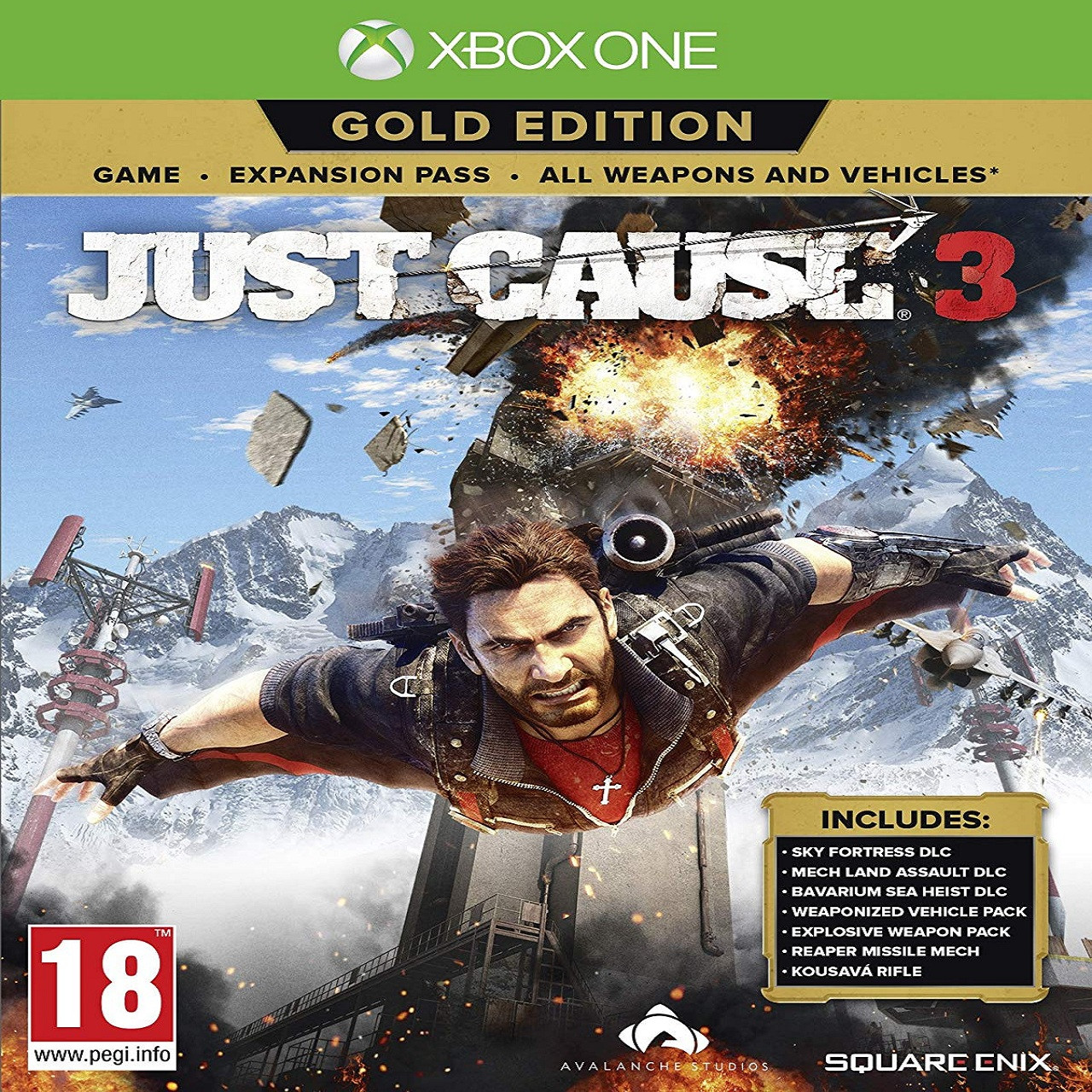 Just Cause 3 Gold Edition RUS Xbox One (NEW)
