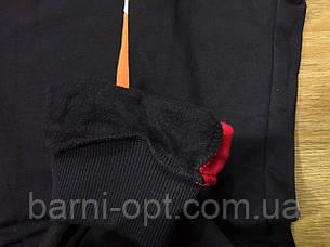 Спортивные брюки утепленные на мальчика оптом, Glo-story , 110-160 рр, фото 2