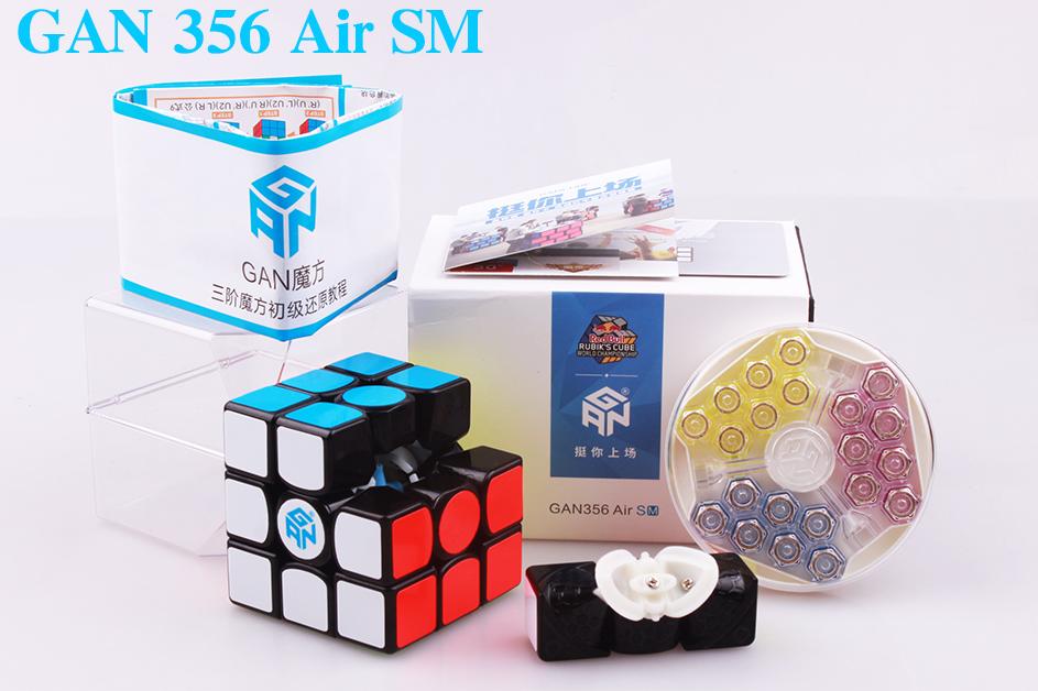 Кубик Рубика 3х3 GAN 356 AIR SM (+ мешочек)