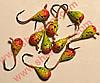 Блешня вольфрамова Bravo 1140-48 4,0 мм 0,99 гр. Крапля з вушком фарбована