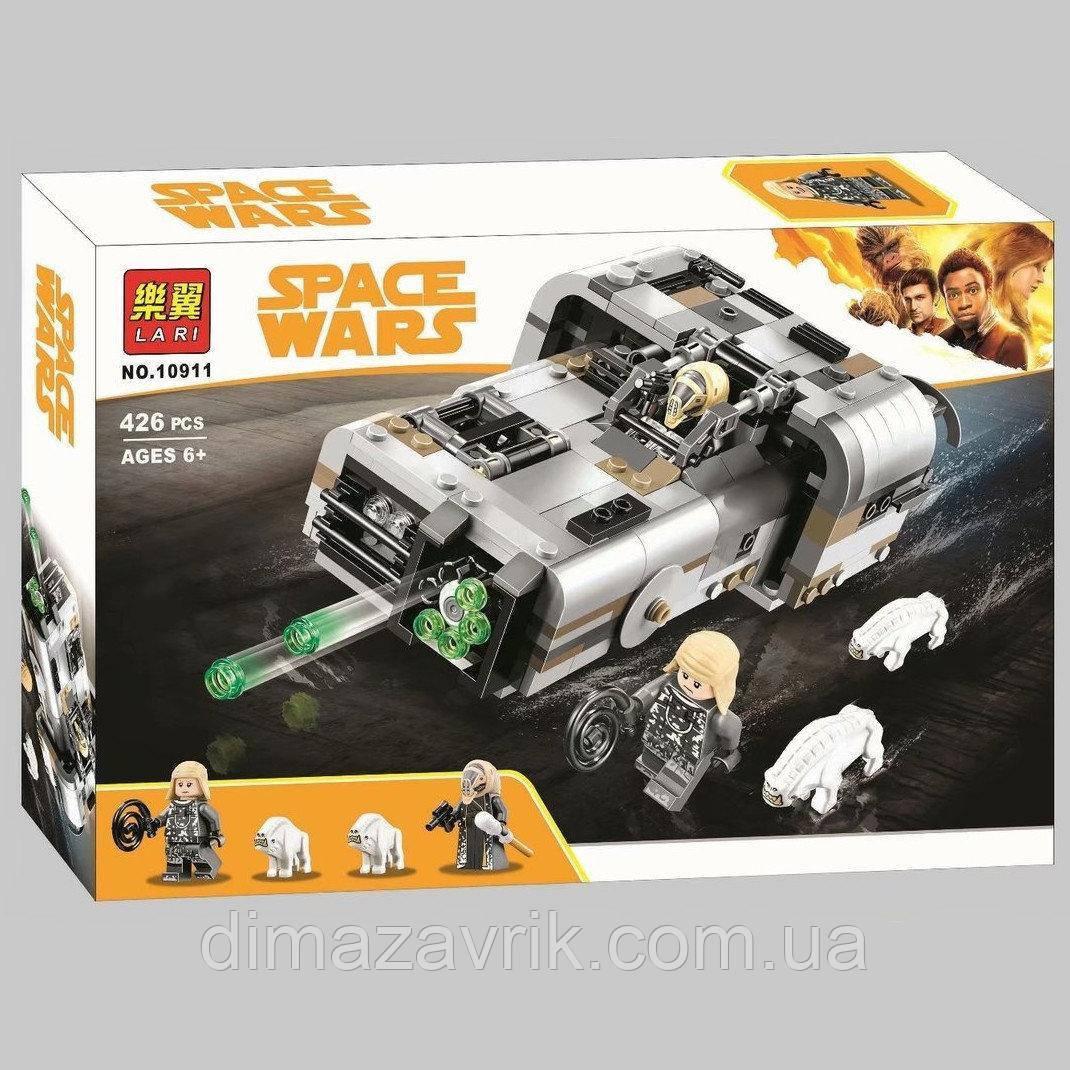 "Конструктор Bela 10911 (Аналог Lego Star Wars 75210) ""Спидер Молоха"" 426 деталей"