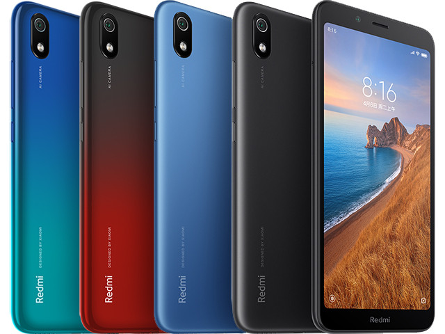 "Телефон Xiaomi Redmi 7A 2/16 Gb 5.45"" (1440x720) / Snapdragon 439 / 12Мп / 4000мАч /"