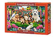 "Пазли Castorland 1000 елементів ""З тваринами у парку"" (C-104406), фото 2"