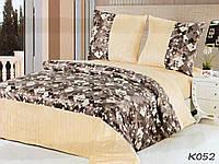 Комплект постельного белья из сатина и микрофибры