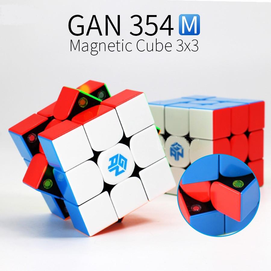 Кубик Рубика 3x3 GAN354M (Magnetic) (без наклеек)