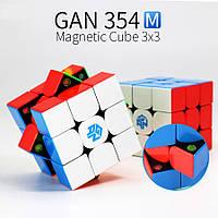 Кубик Рубика 3x3 GAN354M (Magnetic) (без наклеек), фото 1
