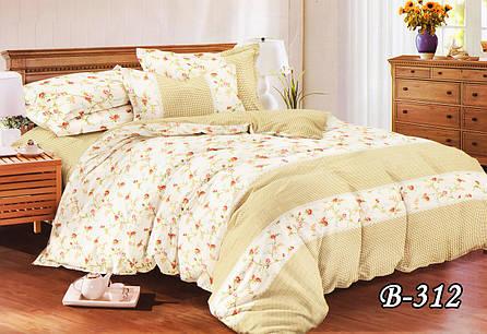 Семейный комплект постельного белья  Gold Delux B-312, фото 2