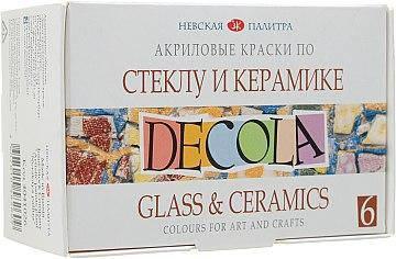 Краски акрил для стекла и керамики
