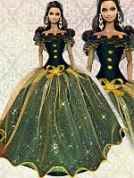 Одежда для кукол Барби. Бальное платье, фото 1