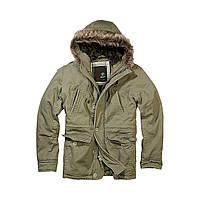 Куртка аляска Brandit Vintage Explorer OLIVE M Зеленый 3120.1-M, КОД: 715008