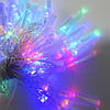 Гирлянда Нить Кисточка электрическая, 100 led, мульти, прозрачный провод, 6м., фото 2
